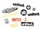 = SALE = United Assorted Sticker Packs