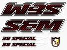 38 Special Decal Set